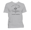 Jet City t-shirt unisex grey