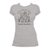 Sasquatch t-shirt women grey