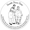 Smooth Shave soap retro label art illustration