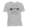 Rowing t-shirt unisex grey