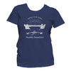 Rowing t-shirt women blue