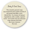 Body & Soul Soap insert story card