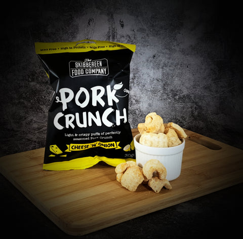 Pork Crunch Cheese & Onion Flavour