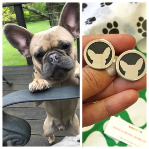 ORIGINAL FRENCH BULLDOG CHARM in sterling silver