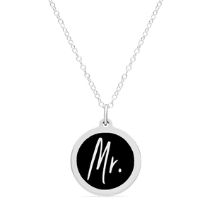 ORIGINAL MR. CHARM in sterling silver with rhodium plate