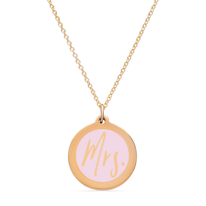 ORIGINAL MRS. CHARM in 14k gold vermeil