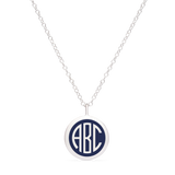 BESPOKE MINI MONOGRAM CHARM in sterling silver