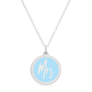 ORIGINAL MRS. CHARM in sterling silver with rhodium plate