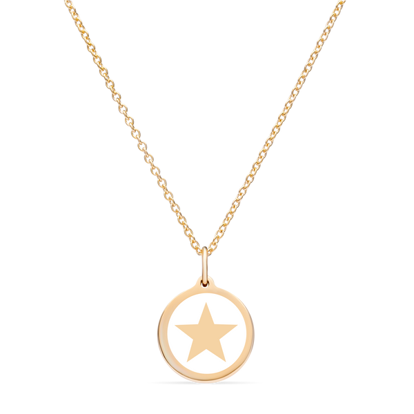 MINI STAR CHARM 14k gold vermeil