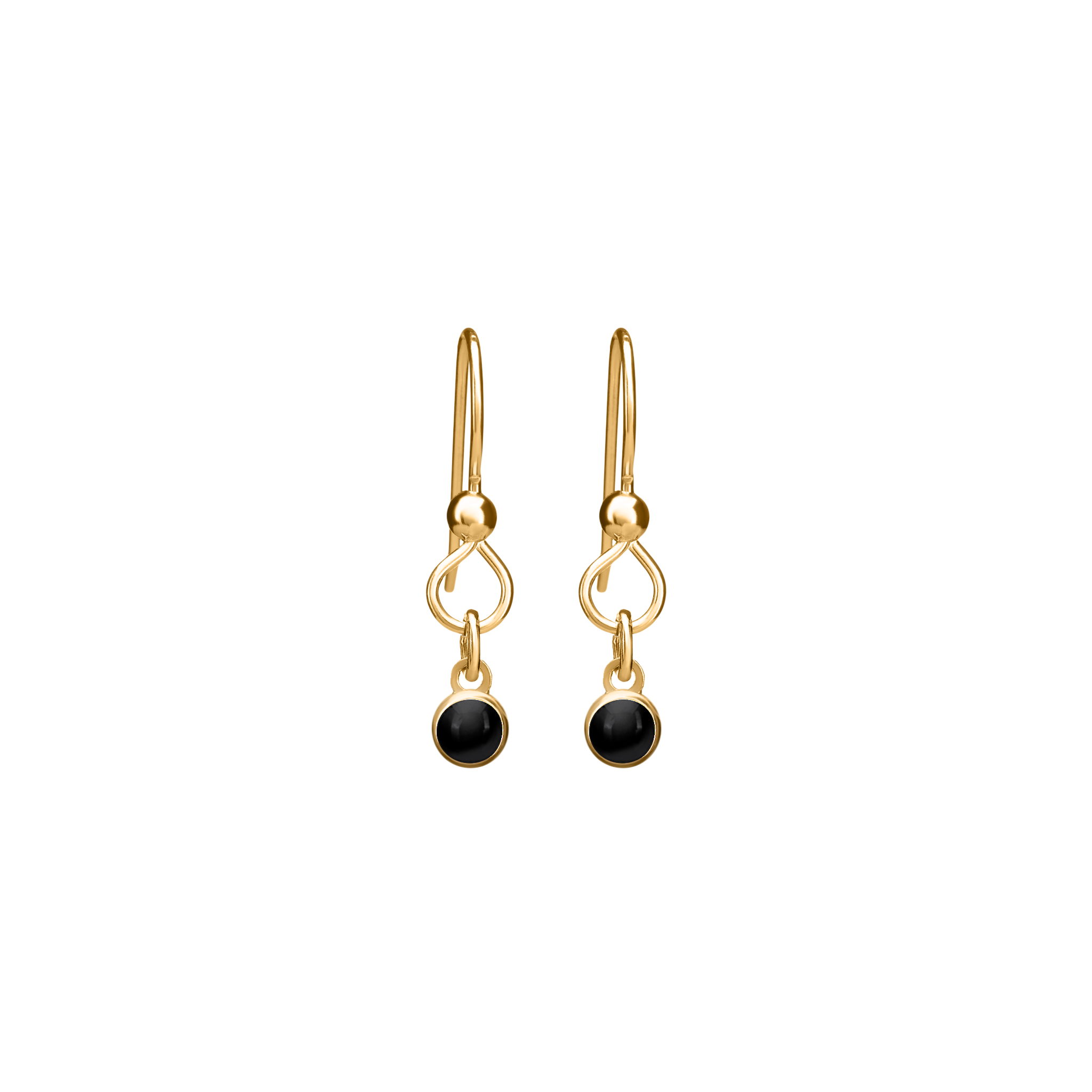 THE PERFECT EARRING  in 14k gold vermeil