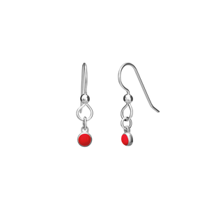 THE PERFECT EARRING  in sterling silver