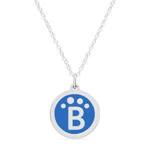 ORIGINAL BLUEPATH CHARM in sterling silver with rhodium plate