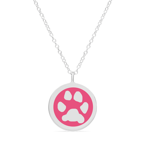 ORIGINAL CUSTOM PAW PRINT CHARM in sterling silver