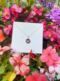 MINI BUTTERFLY CHARM 14k gold vermeil