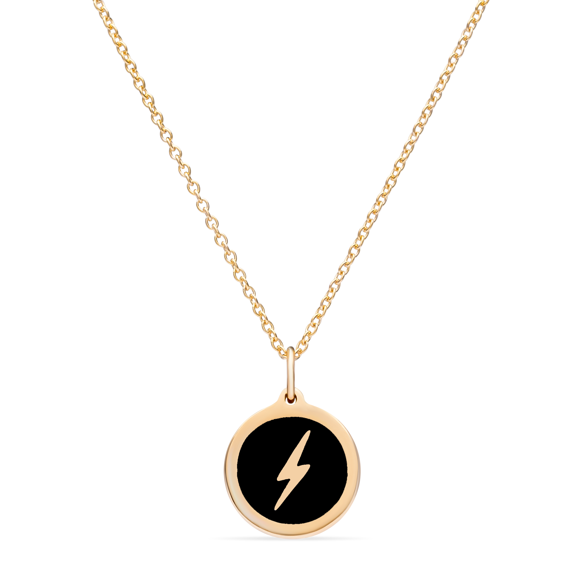 MINI LIGHTNING BOLT CHARM 14k gold vermeil