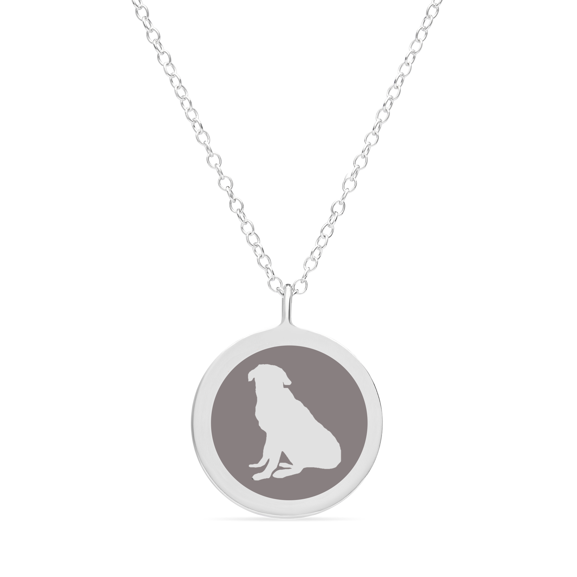 ORIGINAL CUSTOM PET CHARM in sterling silver