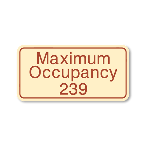 Primary - Maximum Occupancy  (Antique Ivory & Canyon)