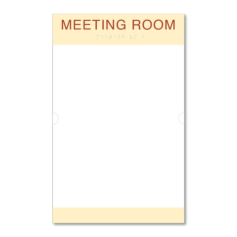 Primary - Room ID w/Doc Holder  (Antique Ivory & Canyon)