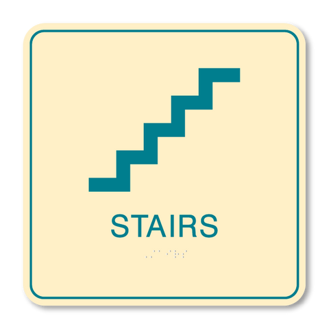 Primary - Stair ID  (Antique Ivory & Teal)