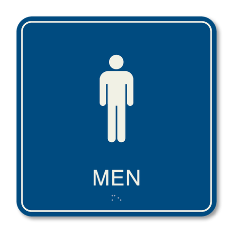 Primary - Restroom Men  (Blue & Ash)