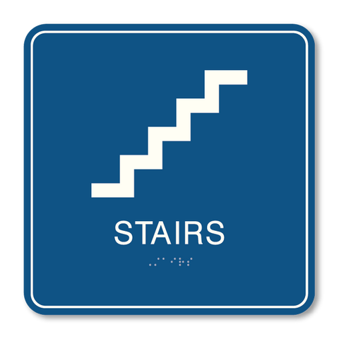 Primary - Stair ID  (Blue & White)