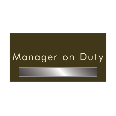 Manager on Duty