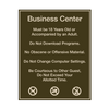 Business Center Rules and Hours