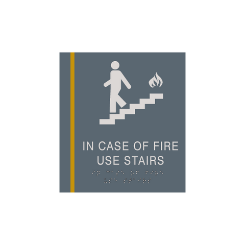 Cambria Suites - Pictogram Sign - In Case of Fire