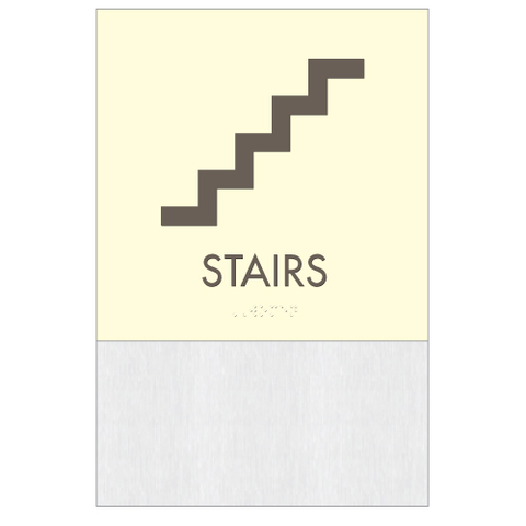 Clarion Pictogram Stairs
