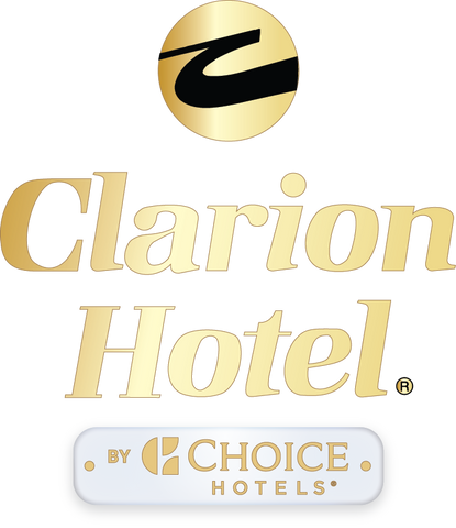 Clarion Hotel Dimensional Logo