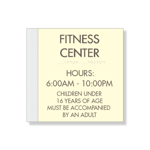 Fitness Center Room Identification