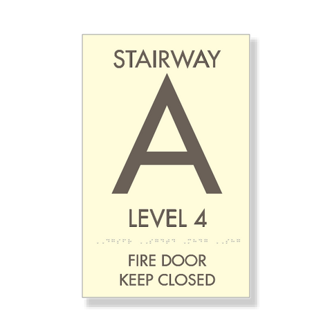 Stairwell Information (Small)