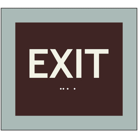 Modern Series Tactile Exit