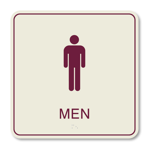 Hospitality Primary Curve - Restroom Men