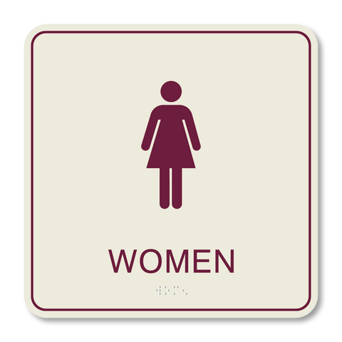 Hospitality Primary Curve - Restroom Women