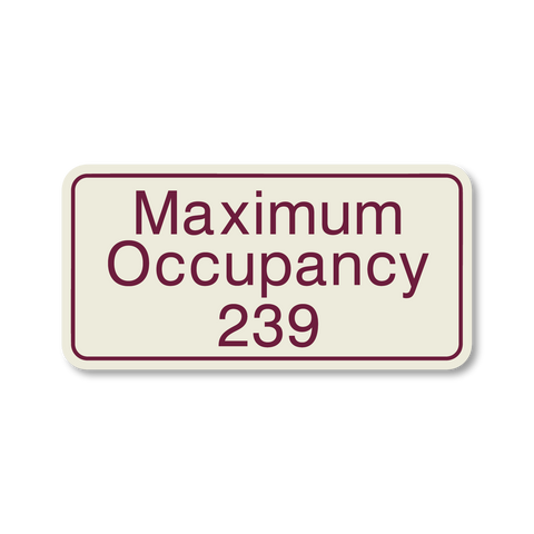 Hospitality Primary Curve - Maximum Occupancy