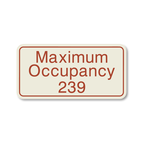 Best Western Primary Curve - Maximum Occupancy
