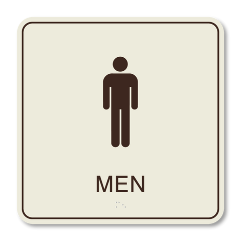 Best Western Primary - Restroom Men (Ash/Dark Brown)