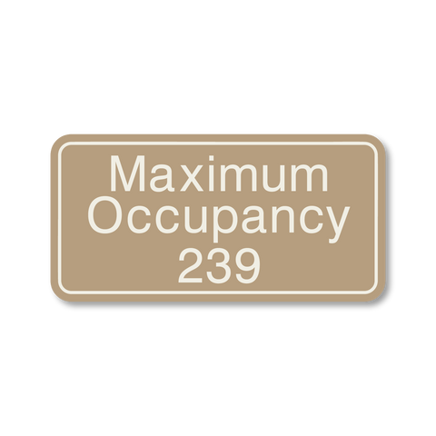 Primary - Maximum Occupancy (Beige/Ash)