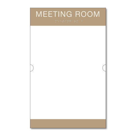 Primary Series - Room ID w/Doc Holder (Beige/Ash)