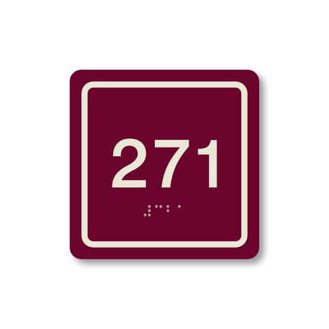 Primary - Square Room Number (Ruby/Ash)