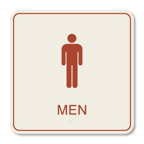 Primary - Restroom Men  (Sandalwood & Canyon)