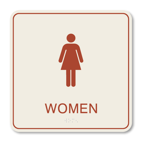 Primary - Restroom Women (Sandalwood & Canyon)