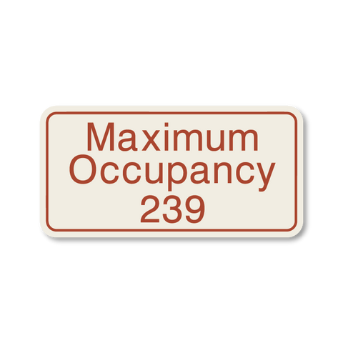 Primary - Maximum Occupancy  (Sandalwood & Canyon)
