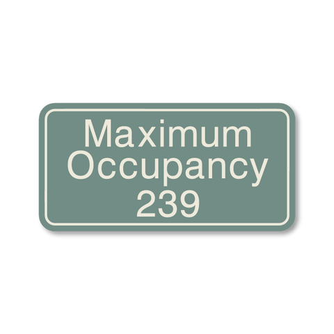 Primary - Maximum Occupancy  (Sea Grey & Sandalwood)