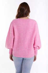 THE CLEMENTINE IN PINK MARLE