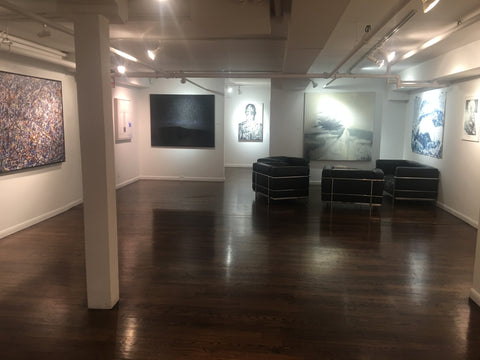Shane Townley's the Path at Georges' Berges Gallery Contemporary Modern Artist Manhattan New York, Tribeca NYC