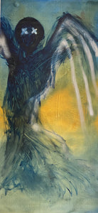 """Dark Angel"" 31""X68"" Oil on Canvas, Signed by Townley"