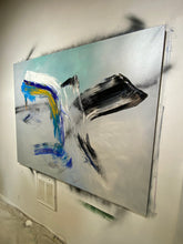 Load image into Gallery viewer, GLASS II oil on CANVAS March 2021