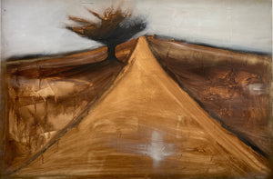"Shane Townley-""PATH II""  48""x72"" Contemporary Landscape Art"